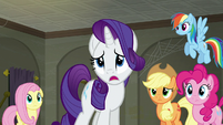 "Rarity ""I don't even have a single employee"" S6E9"