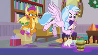 Silverstream quickly mopping the floor S8E16