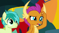 "Smolder ""rebuilt what exactly?"" S9E3"