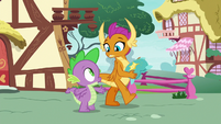 "Spike ""it's a pillow!"" S8E24"