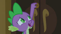 Spike locking the tower doors S5E10