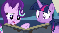 "Starlight Glimmer ""the hornwriting's pretty sloppy"" S7E25"