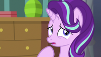 Starlight Glimmer thinking of a response S7E10
