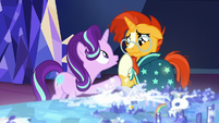 Starlight accidentally hurts Sunburst's feelings S8E8
