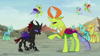 "Thorax correcting ""it's a feelings forum"" S7E17"