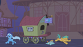 Trixie running away from the Ursa S01E06.png