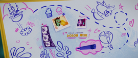 Twilight's whiteboard credit (film version) MLPTM