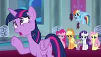 Twilight Sparkle -but that's so soon!- S9E1