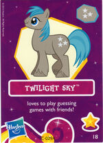 Wave 6 Twilight Sky collector card