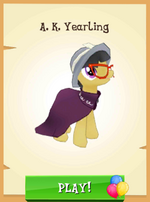 A.K. Yearling MLP Gameloft
