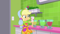 Applejack catches a cup on her elbow SS9.png