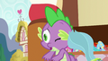 Balloon toy flies into Spike's head S7E3.png