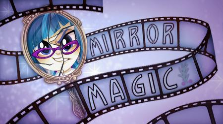 Carta de título de Espejo Mágico (inglés)