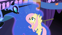 Fluttershy and Nightmare Moon S01E01