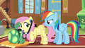 "Fluttershy hears Rainbow asking ""Well?"" S5E5.png"