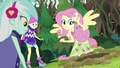 Fluttershy hears the gophers' signal EG4.png