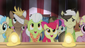 Granny Smith and Apple Bloom watching S4E20.png