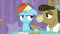 Matilda puts hoof on Dash's shoulder S9E16