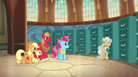 Mayor Mare -I did play a part in their love story- S7E13