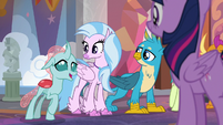 "Ocellus ""we know it's too early to pick"" S8E9"