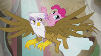 Pinkie -The map sent us here to fix some sort of problem!- S5E8