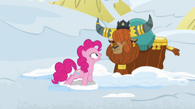 "File:Pinkie Pie ""and the yak snow sandwiches?"" S7E11.png"