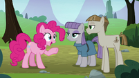 "Pinkie Pie ""you're into rocks, too?"" S8E3"