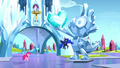 Pinkie and Luna in dream Crystal Empire S5E13.png