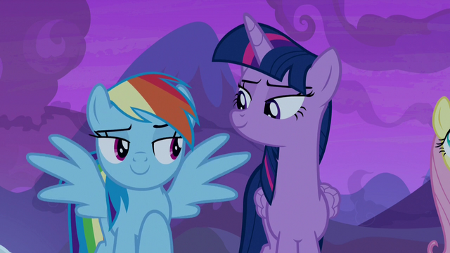 File:Rainbow Dash outstretching her wings S7E11.png