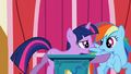 Rainbow Dash pushed away by Twilight S1E04.png