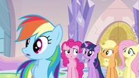 Rainbow Dash wait us S3E12