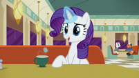 Rarity --Mr. Stripes owns the building-- S6E9