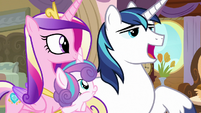 "Shining Armor ""only you would remember"" S7E22"