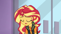 Sunset Shimmer sighing heavily EGDS2