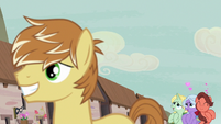 Swooning Ponies swoon over Feather Bangs again S7E8