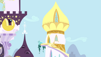 The top of Twilight's Tower S1E01