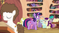 Twilight looking at foals around her S4E15.png