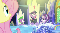 Twilight sees a bright light over the Cutie Map S7E25