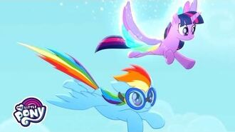 'Living in Color' Sing-Along 🌈 My Little Pony- Rainbow Roadtrip - -MusicMonday