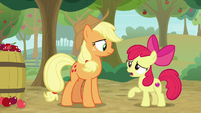 "Apple Bloom ""you and me set traps together"" S9E10"