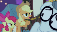 "Applejack ""and we want to know how it works"" S4E20"