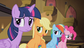 Applejack 'We're happy for you, Rarity' S4E08.png