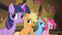 Applejack 'We're happy for you, Rarity' S4E08