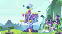 Castle of Friendship in springtime MLPS2