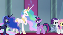 "Celestia ""the strength to make it right"" S9E2"