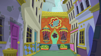Exterior view of The Tasty Treat S9E5