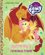 Fluttershy's Ferocious Friend! book cover