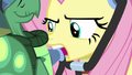 Fluttershy using stethoscope on Tank S5E5.png