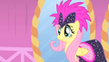 Fluttershy wincing during first photo shoot S1E20.png