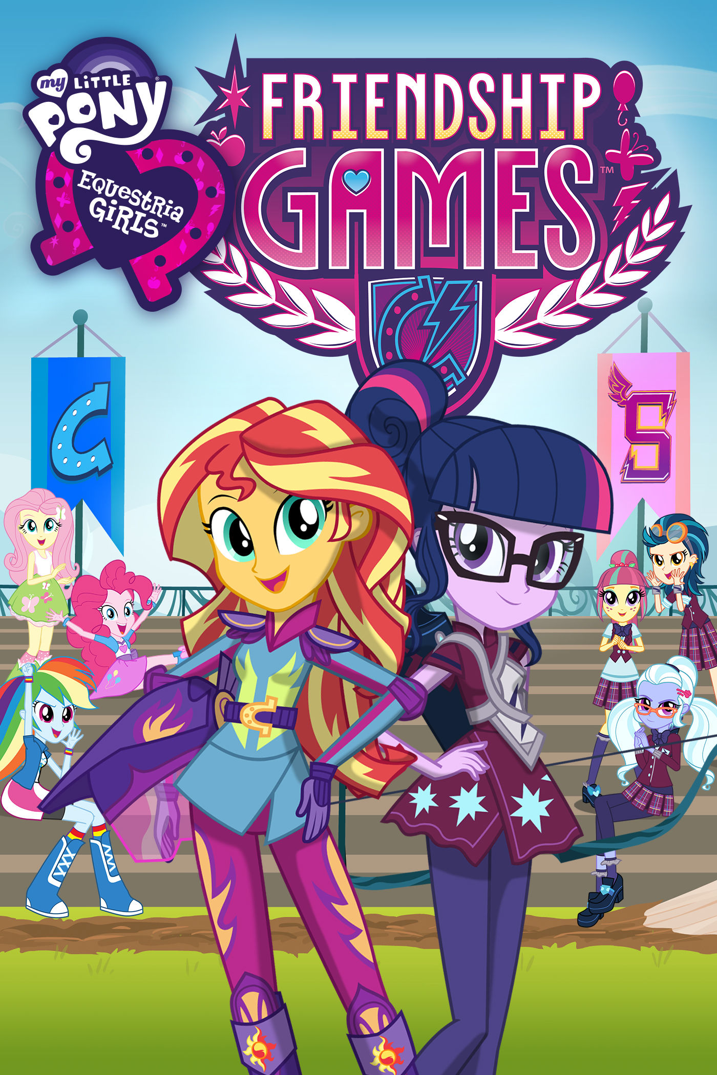 My Little Pony Equestria Girls Friendship Games My Little Pony